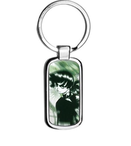 Naruto ROCK LEE metal keyring Keychain 2