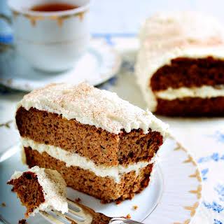 Gluten-Free Cinnamon Apple Spice Cake.