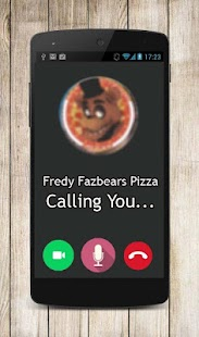 Fake Call Video Prank Fredy Fazbears Pizza - náhled