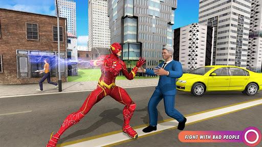 Speed Flash Superhero Fighting City Rescue 1.1.1 screenshots 7