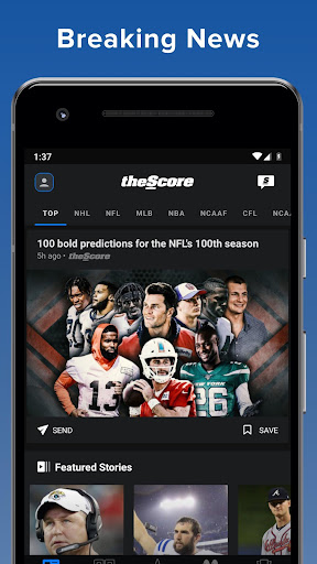 ScoreMobile for Android screenshot 2