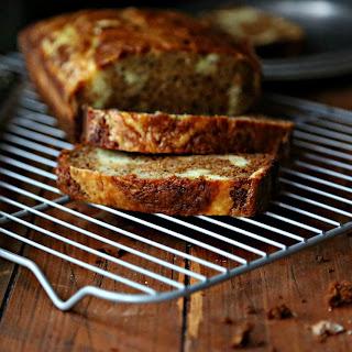 Banana Bread with Mascarpone Cheese Swirl Recipe