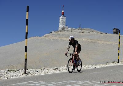 Renners beklimmen Mont Ventoux dan toch tweemaal