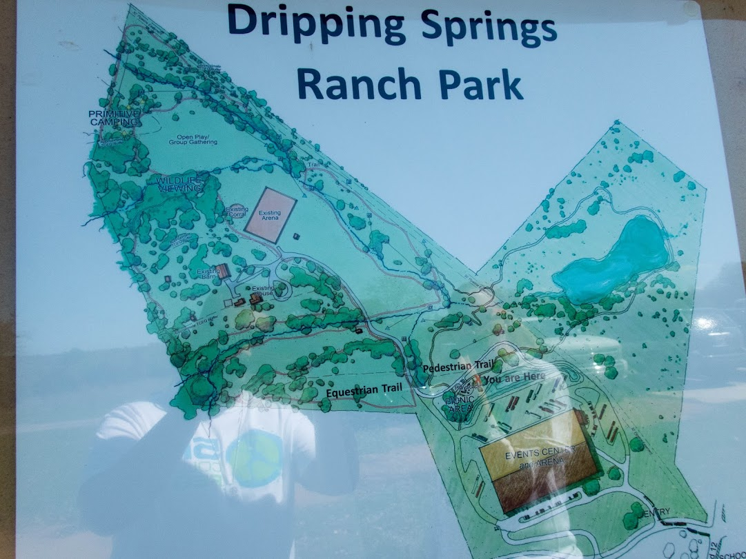 Dripping Springs Ranch Park Map