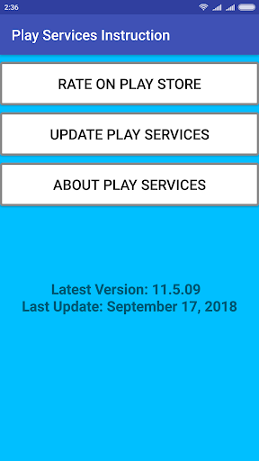 Play Services Update Installer 1.5 screenshots 1