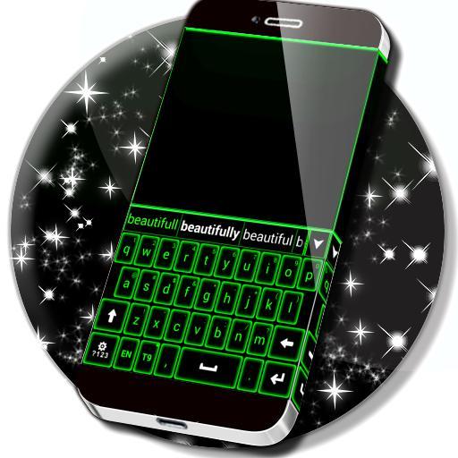 Green Neon Keyboard Aplicaciones (apk) descarga gratuita para Android/PC/Windows