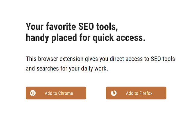 SEO Tool Extension