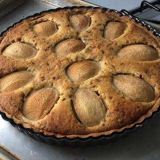 Pear & Hazelnut Tart Recipe