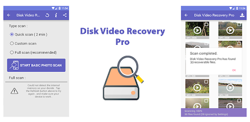 Disk Video Recovery Pro - Apps on Google Play