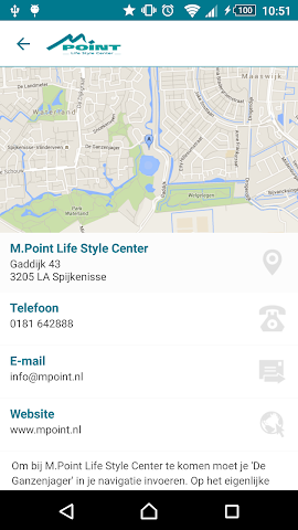 android M.Point Life Style Center Screenshot 3