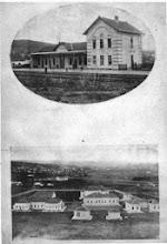 Photo: Прокупље-Железничка станица-Болница1930.
