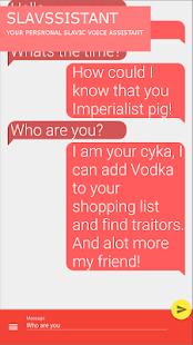 Slavssistant - Soviet voice assistant - náhled