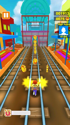 Subway Run - Train Surfing 3D 1.0 screenshots 1