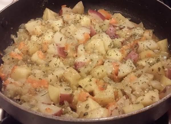 Amish Basque Potatoes