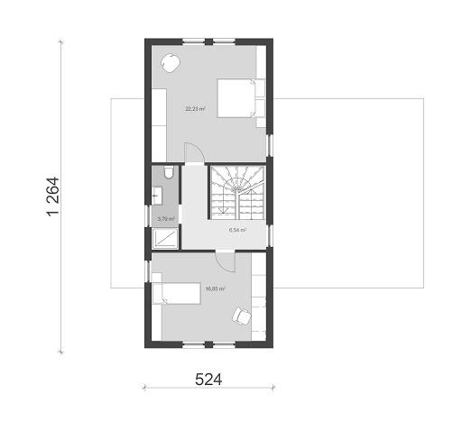 UA45 - Rzut piętra