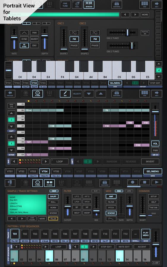 G-Stomper Studio DEMO- screenshot
