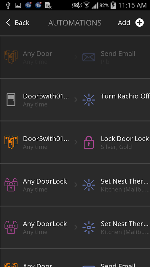 Icontrol Networks- screenshot