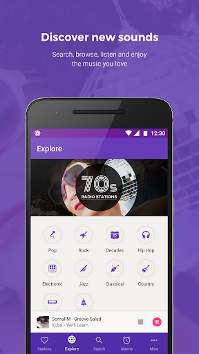 Replaio – Radio, Music & Talk v1.5.4 [Pro]