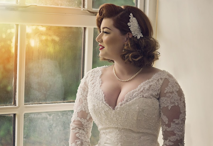 50's inspired by Melissa Marie Gomersall - People Portraits of Women ( lace, dress, wedding, beautiful )