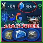 Instant mobile legends free diamond Daily Rewards!