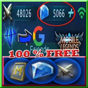 Instant mobile legends free diamond Daily Rewards! for PC