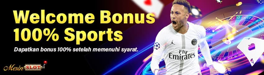 Welcome Bonus 100% Sportsbook