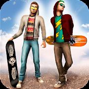 Skateboard Racing Challenge - Street Party Stunts