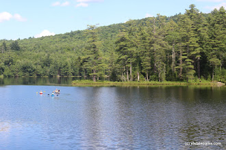Photo: Boaters at Lowell Lake State Park by Jess Lubas