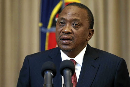 President Uhuru Kenyatta has been accused of dragging his heels on corruption, one of his election promises. Picture: REUTERS