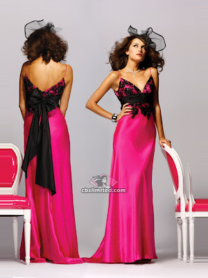 Prom Dress/Gowns, Evening and Party Dress: BG Haute B18033 Fuchsia ...
