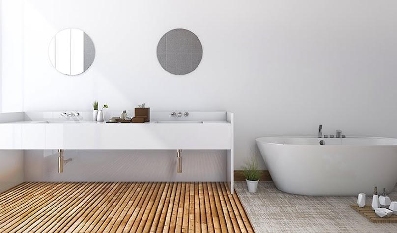 Podłoga 3D w łazience