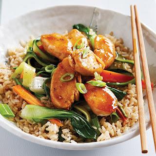 Low-FODMAP Teriyaki Chicken Stir-Fry Recipe