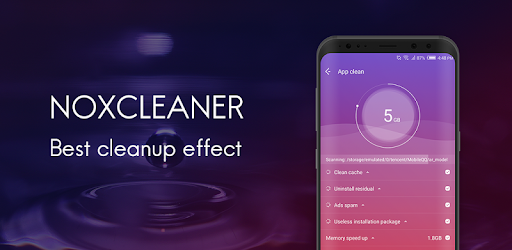 NoxCleaner - Phone Cleaner,Booster,Space Optimizer for PC