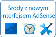 Srody z nowym interfejsem AdSense