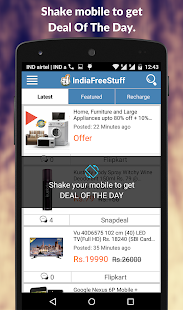 IndiaFreeStuff Deals Coupons Free Sample  Recharge- screenshot thumbnail