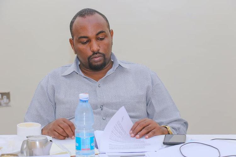 Garissa County Secretary Abdi Sheikh Ali