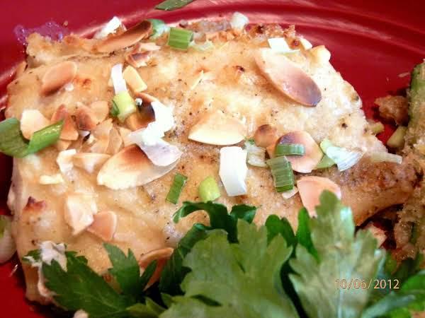 Almond Baked Cod Recipe