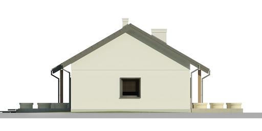 Dom przy Bukowej 5 - Elewacja lewa