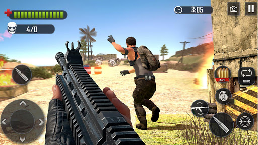 Battleground Fire : Free Shooting Games 2020 apkpoly screenshots 13