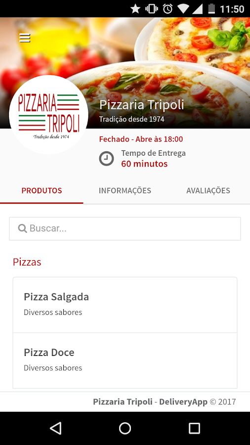 Pizzaria Tripoli- screenshot