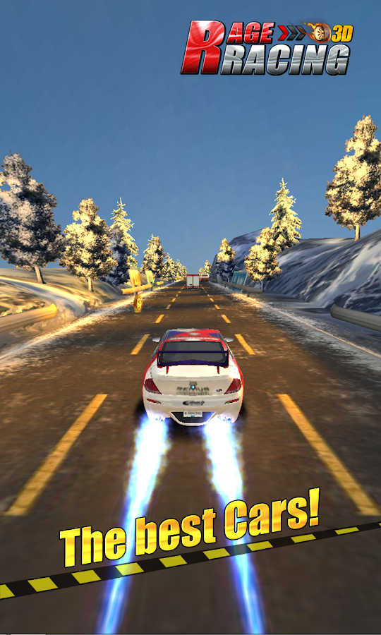 Rage Racing 3D- screenshot