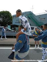 Photo: 【平成23年(2011) 本宮】  毎年渡御に参加してくれる名物小僧。今年は「い」の字が二つ。