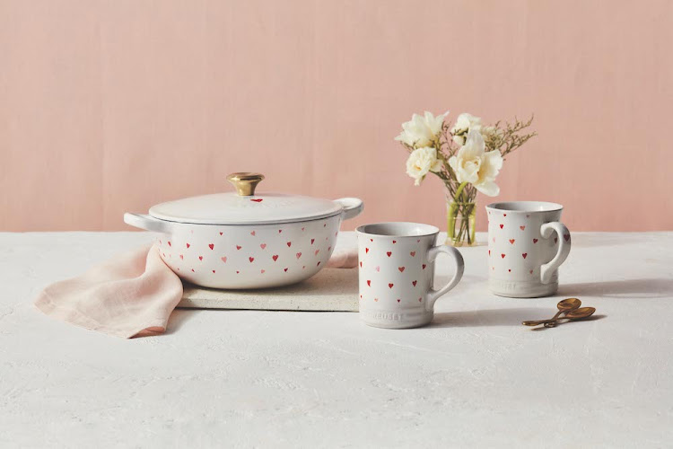 Le Creuset's new Heart collection is the perfect Valentine's Day gift.