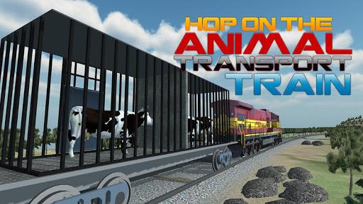 Farm Animal Transport Train