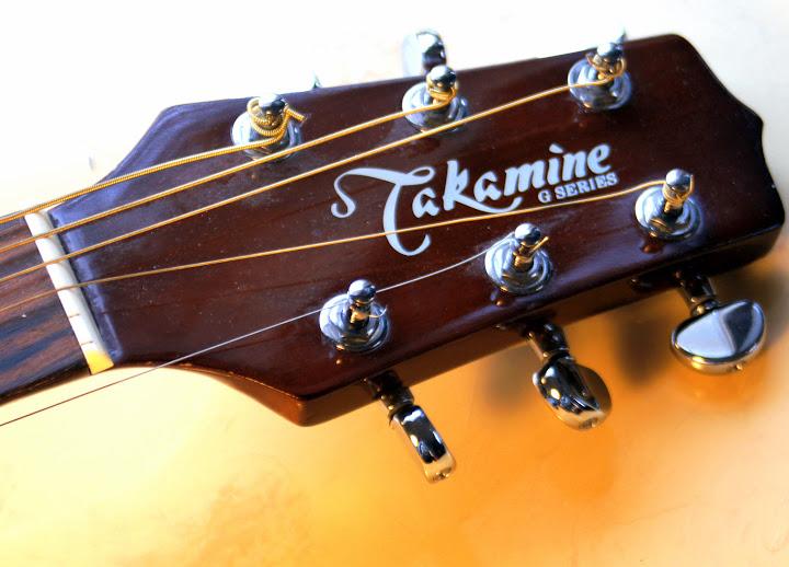 takamine g230 acoustic large body 6 string guitar broken. Black Bedroom Furniture Sets. Home Design Ideas