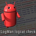 LogMan logcat check icon