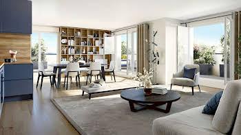 Appartement 3 pièces 73,76 m2