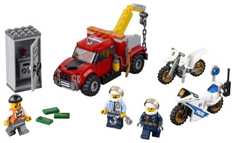 Contenido de Lego® 60137 Camión Grúa en Problemas