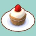 いちごのカップケーキ