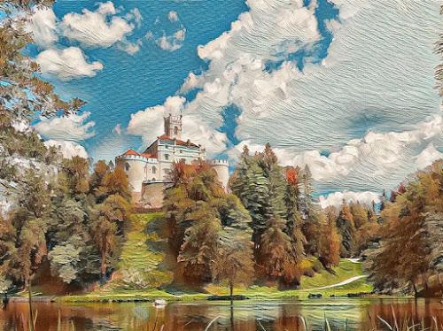 by Ksenija Bauer - Digital Art Places